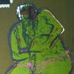 Izka and rocket horse, serigraphy, 100x70 cm, 2004