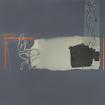 Rewritten space in blue, serigraphy, 100x140cm, 2005