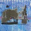 Flying dog (2), serigraphy, 35x50 cm, 2006