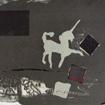 Unicorn (2), serigraphy, 35x50 cm, 2006