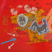 Rewritten space with heart, serigraphy, 70x100 cm, 2008